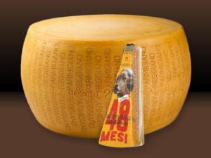Parmigiano Reggiano di Bruna Alpina 48 mesi